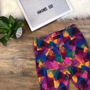 LuLaRoe Leggings-  Multi Color ONE SIZE